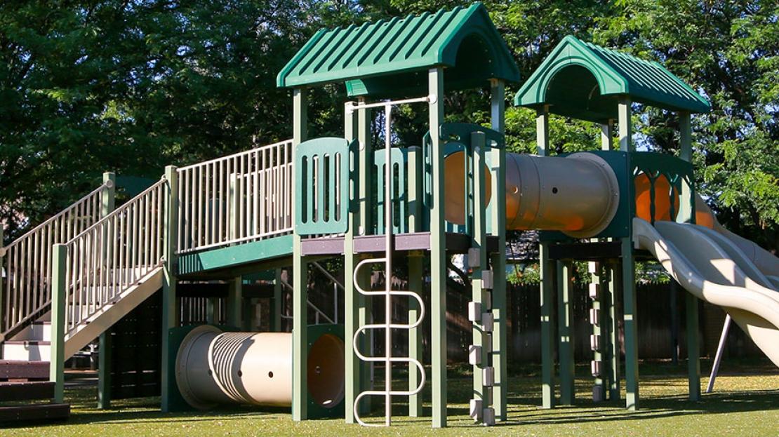 physical playground equipment