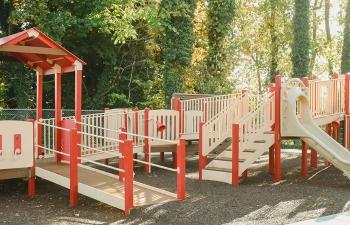 Bruce Drysdale Elementary School Inclusive Playground