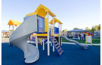 saratoga springs slide for children