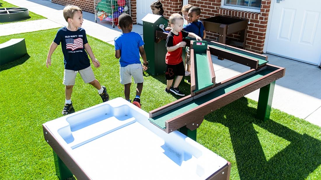 The Goddard School Playground