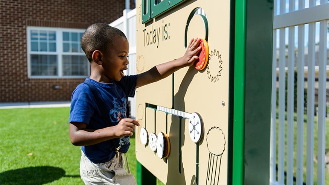 Educational Playground Panel