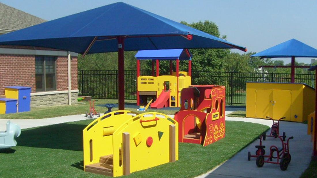 Trike Deck for Playground